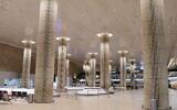 Le hall d'arrivée vide de l'aéroport international Ben Gurion près de Tel Aviv, le 3 février 2021. (Tomer Neuberg/Flash90)
