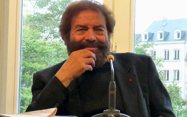 Marek Halter, à Strasbourg, en 2010. (Crédit : Ji-Elle/ CC BY-SA 3.0)