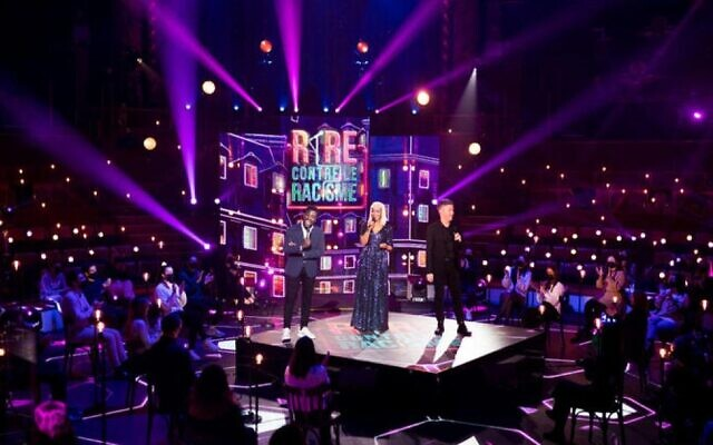 Rire contre le racisme, sur France 2. (Crédit : France Télévisions)