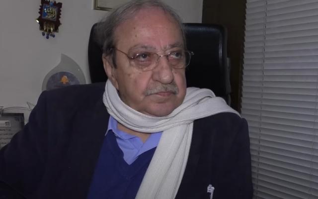 L'acteur syrien Duraid Lahham. (Capture d'écran vidéo)