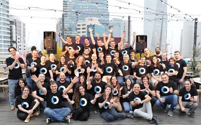 L'équipe d'Orca Security au mois de mars 2021. (Crédit : Orca Security)