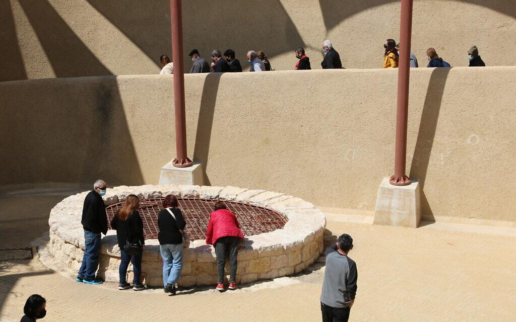 Le puits d'Abraham à Beer Sheva. (Shmuel Bar-Am)