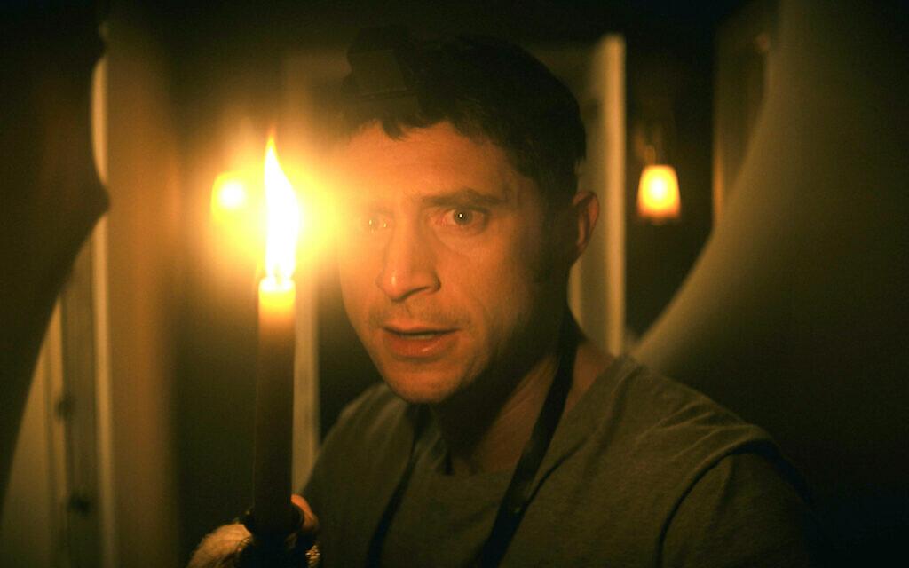 """Dave Davis dans le rôle de Yakov Ronen dans """"The Vigil"""". (Autorisation de IFC Midnight via JTA)"""