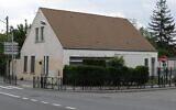 L'ancienne synagogue de Trappes, au 7 rue du Port-Royal, incendiée le 10 octobre 2000. (Crédit : Djampa /Creative Commons4.0)