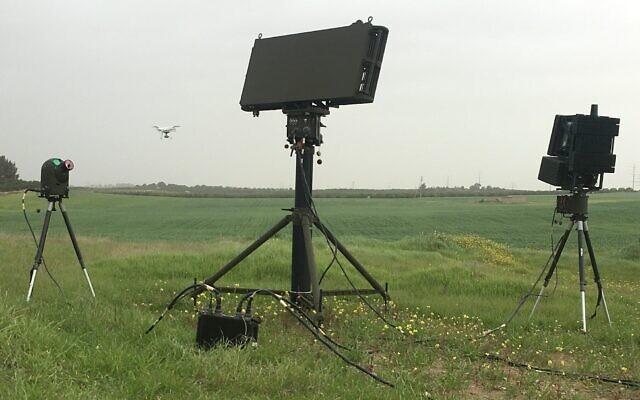 La technologie Drone Guard développée par Aerospace Industries. (Autorisation)
