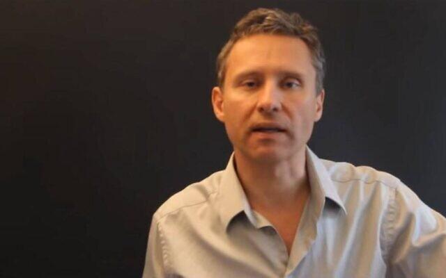 Le militant d'extrême droite Hervé Lalin ditRyssen. (Capture d'écran YouTube)