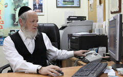 Yehuda Meshi-Zahav, président de l'organisation d'intervention d'urgence ZAKA, le 4 février 2010. (Yaakov Naumi/Flash90)