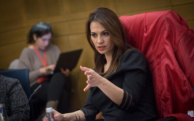 La députée Yifat Shasha-Biton. (Crédit : Miriam Alster / Flash90)