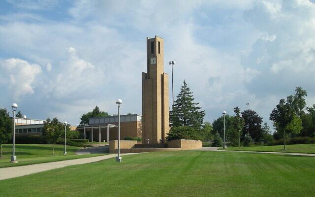 Le campus de Ferris State en 2010. (Crédit ; Michael Barera/Wikimedia Commons via JTA)