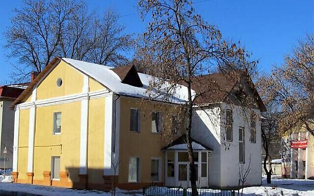 Le siège de la communauté juive de Gomel, en Biélorussie. (Jews.Bel via JTA)