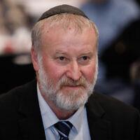 Le procureur général Avichai Mandelblit lors d'un événement au Dan Hotel de Jérusalem, le 6 février 2020. (Crédit : Olivier Fitoussi/Flash90)