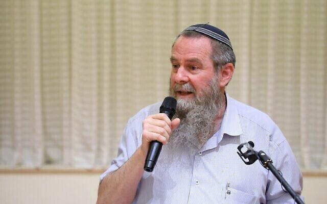 Le président du parti Noam Avi Maoz (Crédit : Parti Noam)