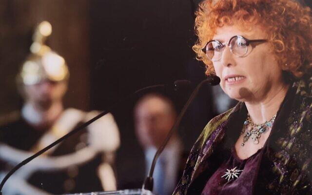 Linda Laura Sabbadini.. (Autorisation : Bureau du président italien)