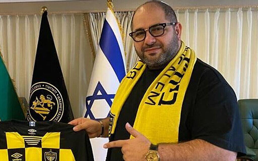 Naum Koen en Israël, le 27 novembre 2020. (Autorisation de Moshe Hogeg via JTA)