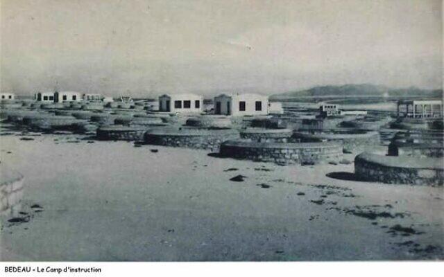 Le camp de Bedeau en Algérie. (Crédit : DR)