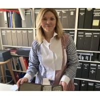 Joëlle Pariente-Milgrom en quête de la mémoire familiale. (Crédit : Sandrine Szwarc/DR)