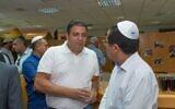 Pini Peter lors d'un événement 'Habad à Chypre. (Crédit : Facebook)