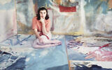 « Portrait d'Helen Frankenthaler », photographié par Gordon Parks pour Life Magazine, 13 mai 1957, imprimé en 2018. (The Jewish Museum, New York, Purchase: Horace W. Goldsmith Foundation Fund, 2018-75 Artwork © The Gordon Parks Foundation)