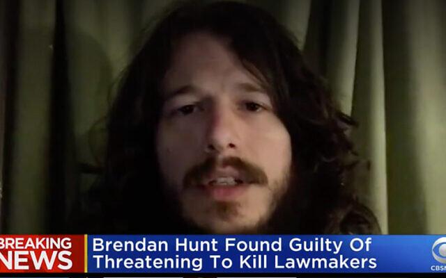 Brendan Hunt. (Capture d'écran : CBS News)