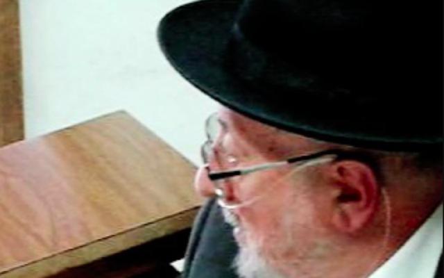 Le rabbin Isaac Elhadad. (Crédit : Isaac Elhadad / Facebook)
