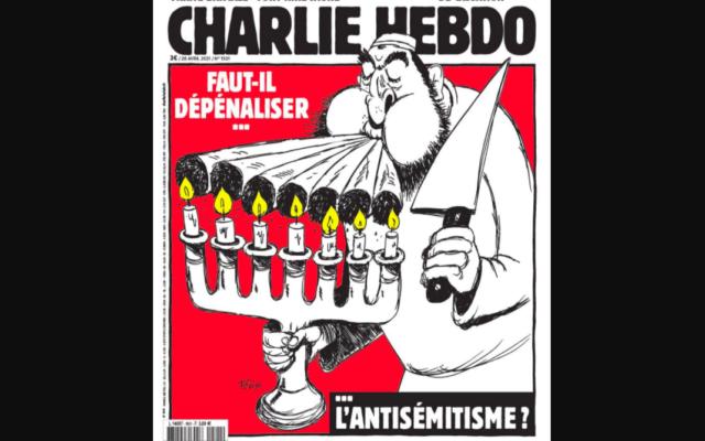 """La Une du journal """"Charlie Hebdo"""" publiée le 28 avril 2021."""