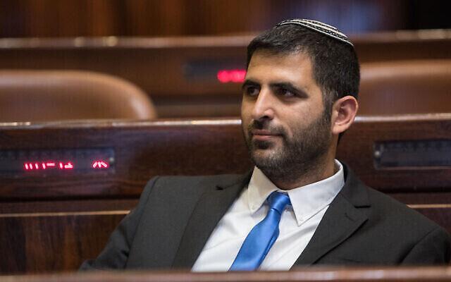 Shlomo Karhi, député du Likud, à la Knesset le 29 avril 2019. (Noam Revkin Fenton/Flash90)