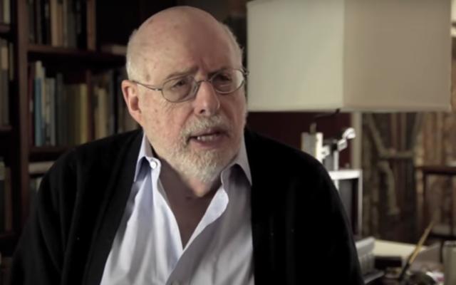 Le rabbin Robert Marx lors du 50è anniversaire du JCUA (Jewish Council on Urban Affairs), le 16 juin 2014. (Capture d'écran : JCUA Chicago/ Youtube)