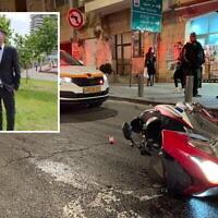 Itamar Hillman 21, (insert) a été tué dans un accident de la route à Jérusalem le 13 avril 2021. (Porte-parole de United Hatzala)