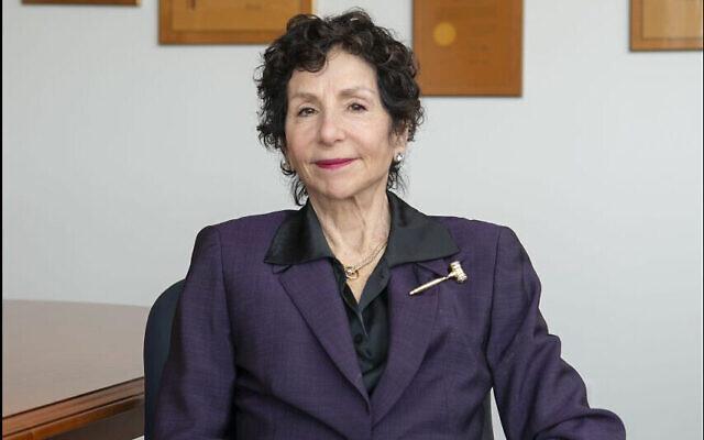 Sandra J. Feuerstein, juge à New York. (Crédit : Cardozo School of Law via JTA)