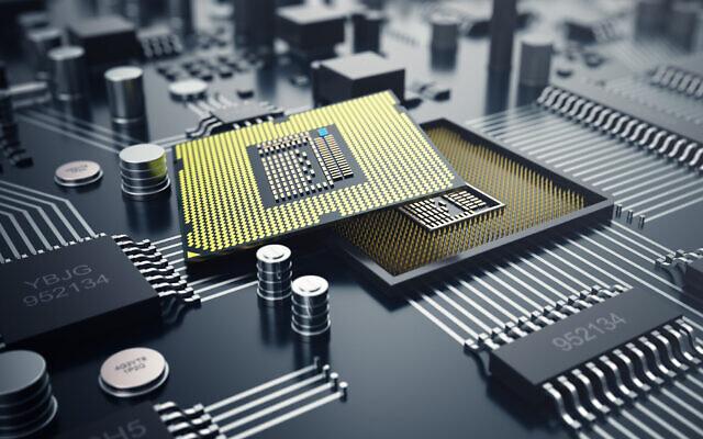 Illustration. Processeurs d'ordinateurs. Les ordinateurs conventionnels traitent des informations, ou bits, dont chacun peut être soit un zéro, soit un un, dans le langage binaire de l'informatique. En revanche, les bits quantiques, utilisés par les ordinateurs quantiques, peuvent être simultanément un zéro et un. (Crédit : Rost-9D ; iStock by Getty Images)