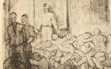 Un dessin du peintre Léon Delarbre. (Crédit : Prisons-cherche-midi-mauzac.com)