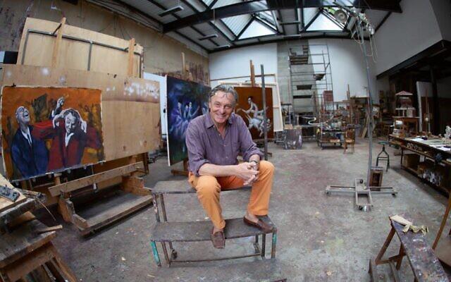 Le peintre Gérard Garouste. (Crédit : Facebook)