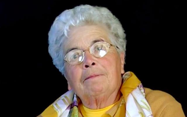 Marie-Louise Lafon. (Crédit : Capture d'écran Vimeo / Conseil départemental Dordogne.