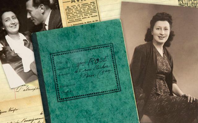 Couverture du Journal d'une Juive française à Paris sous l'Occupation [1939-1943]. (Crédit : Éditions de Paris)