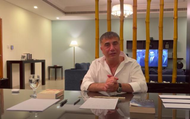 Sedat Peker (Crédit : capture d'écran YouTube)