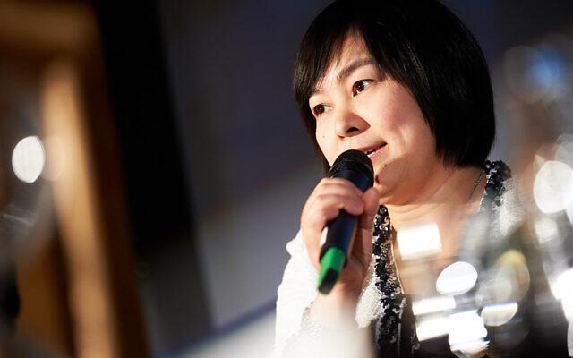 La porte-parole du ministère chinois des Affaires étrangères, Hua Chunying, le 29 novembre 2011. (Crédit : Flickr)