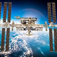 Une image de la Station spatiale internationale. (Crédit : Andrey Armyagov Dreamstime)