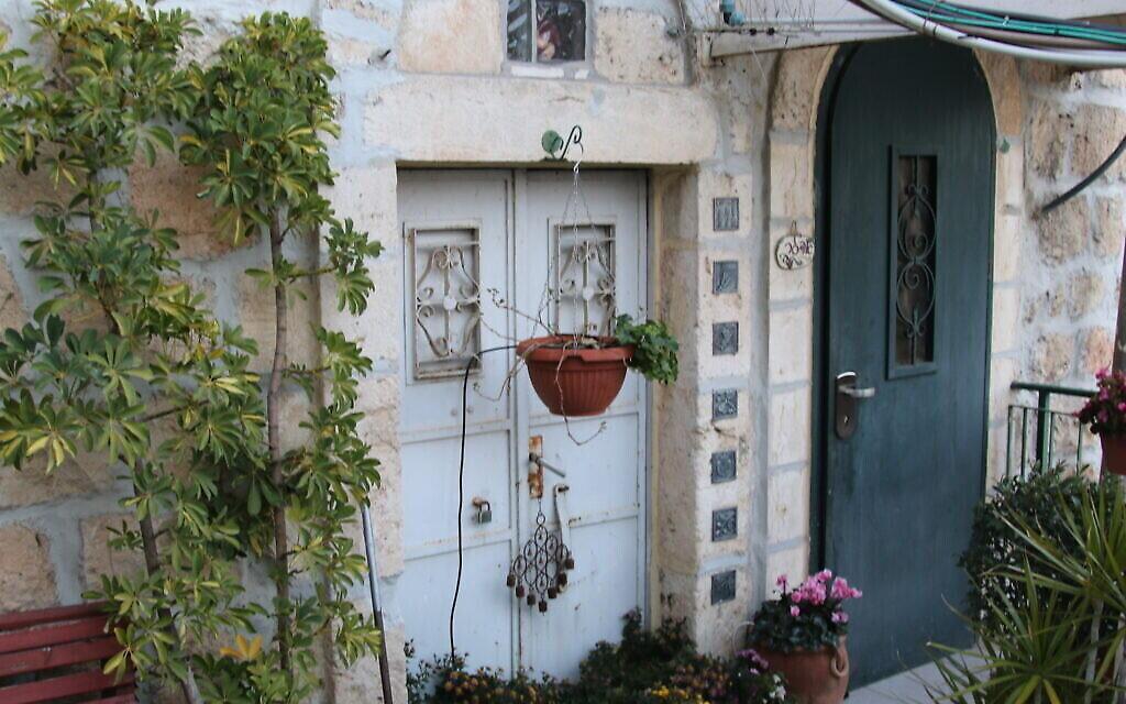 La maison Meyuhas construite aux environs de 1973 dans la Cité de David, à Jérusalem. (Crédit : Shmuel Bar-Am)