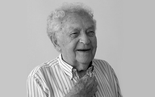 Yitzhak Arad, ancien président du mémorial de la Shoah de Yad Vashem. (Autorisation Yad Vashem)