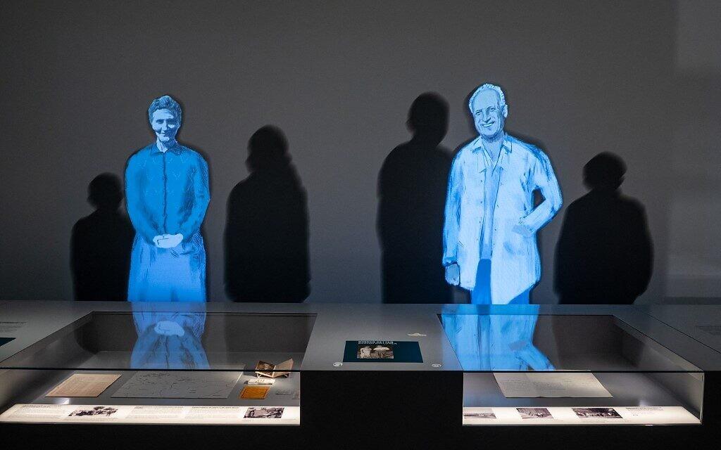 L'exposition du musée des déplacements et des expulsions de Berlin, le 21 juin 2021. (Crédit :  Bernd von Jutrczenka / POOL / AFP)