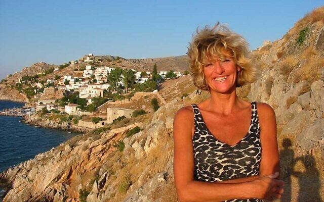La journaliste néerlandaise Ingeborg Beugel. (Crédit : Facebook)