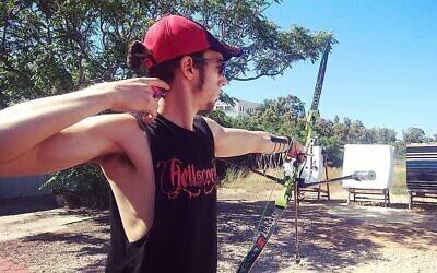 L'archer israélien Itay Shanny (Autorisation)