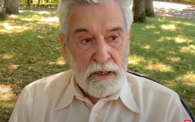 Le père Michel Remaud. (Capture d'écran YouTube / Juifs pour Jésus)