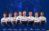 L'équipe Israel Start-Up Nation au départ du Tour de France 2021. (Crédit : Israel Start-Up Nation / Facebook)