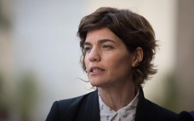 La députée de Meretz, Tamar Zandberg, le 10 mars 2019. (Crédit : Hadas Parush/Flash90)