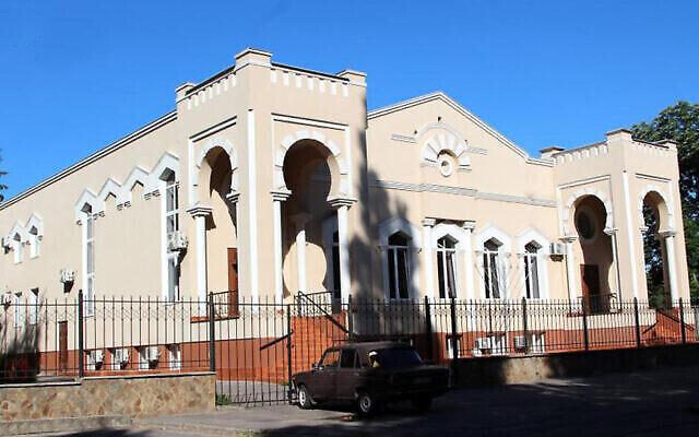 La synagogue de Kremechuk en Ukraine (Crédits: Foundation for Jewish Heritage/The Center for Jewish Art)