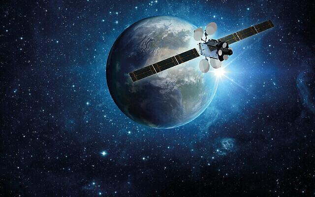 Le satellite Amos 17 de Spacecom Satellite Communications (Courtoisie)