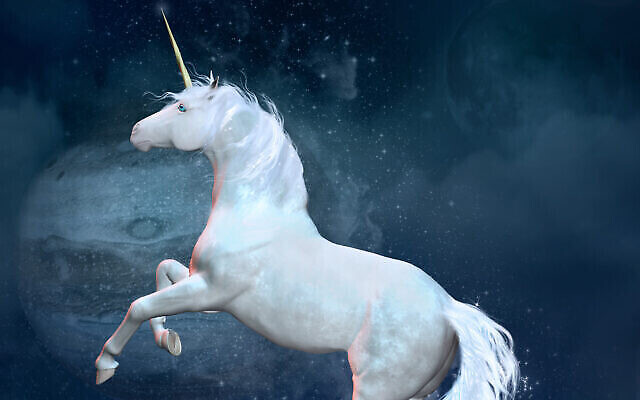 Image illustrative d'une licorne (Crédit: Ellerslie77; iStock par Getty Images)