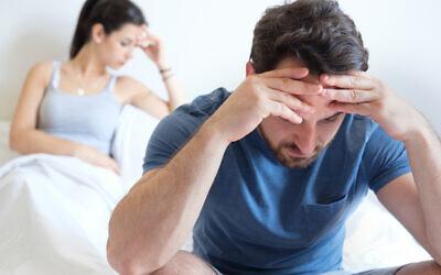 Illustration d'un couple en pleine dispute.(Crédit : tommaso79via iStock by Getty Images)