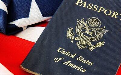 Photo d'illustration : Un passeport américain. (Crédit : vlana/iStock/Getty Images)